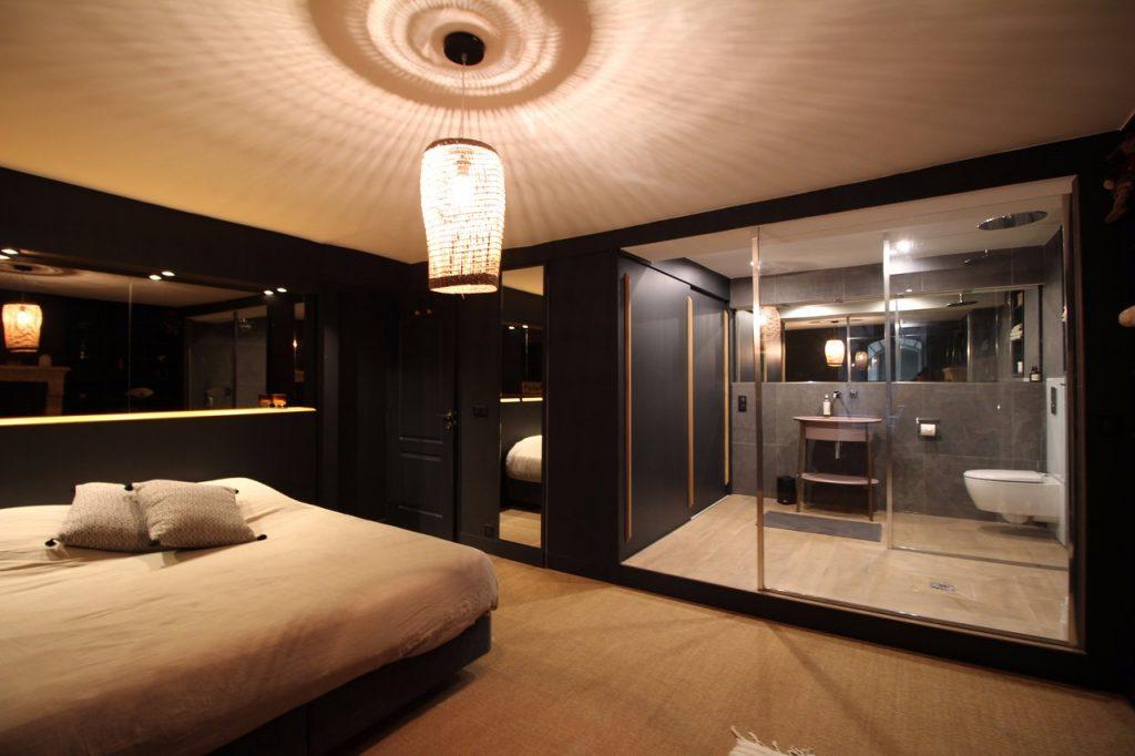 Une chambre à l'Escapade Bordelaise