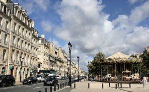Allées de Tourny dans le triangle d'or de Bordeaux