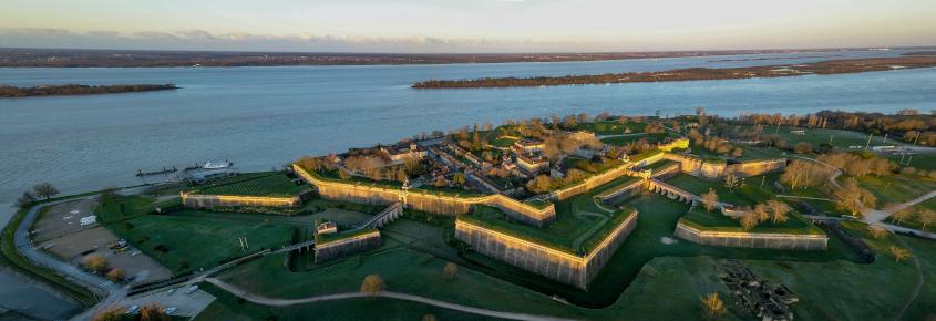 Blaye citadelle ville fortifiée