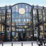 Le marché des Grands Hommes dans le triangle d'or de Bordeaux