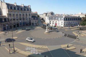 Place Tourny dans le triangle d'or de Bordeaux