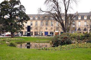 Place Gambetta dans le triangle d'or de Bordeaux