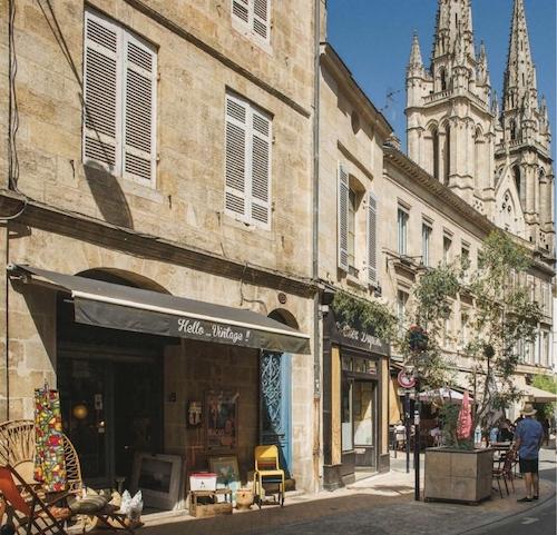Quartier Notre-Dame dans le quartier des Chartrons à Bordeaux