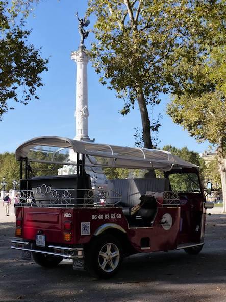 tuk-tuk bordeaux transport tourisme